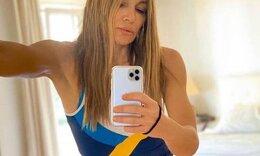 Ελένη Πετρουλάκη: Αλλη μια επιτυχία για τη γνωστή γυμνάστρια! (Photos)