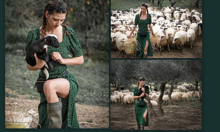 GNTM: Η Μαρία η αγρότισσα ντύθηκε νυφούλα και ο γαμπρός είναι... λεβέντης! (Photos)