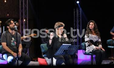 MEGA: Στο σπίτι με τη Δήμητρα Γαλάνη - Δείτε backstage φωτογραφίες!