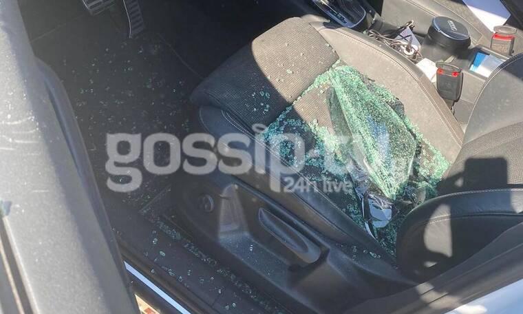 Αποκλειστικό: Θύμα κλοπής γνωστός τραγουδιστής! Του έσπασαν το αυτοκίνητο!