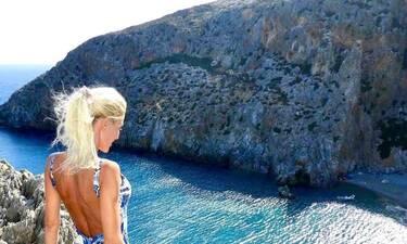 Ελληνίδα μάνα έβαλε «φωτιά» στην Κρήτη (photos+video)