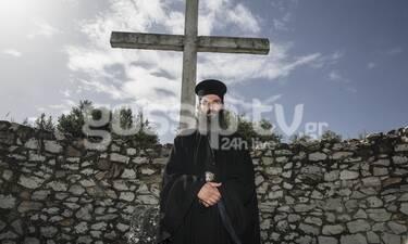 Άρης Σερβετάλης: Ξεκίνησε τα γυρίσματα για την ταινία Man Of God-Αγνώριστος