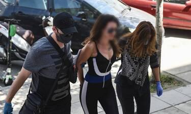 Θεσσαλονίκη: Νέο «σόου» της παρουσιάστριας που πέταξε νερό στον Χαρδαλιά