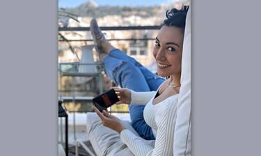 Ευγενία Σαμαρά: Η βεράντα της είναι παράδεισος! Δες πώς την έχει φτιάξει