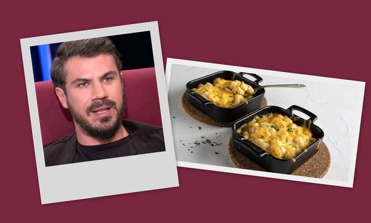 Ο Άκης Πετρετζίκης φτιάχνει το πιο εύκολο και πιο λαχταριστό mac 'n' cheese