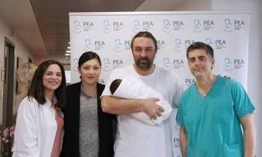 Ο Ιβάν Σβιτάιλο ανέβασε την πρώτη φωτό της νεογέννητης κόρης του και... λιώσαμε!