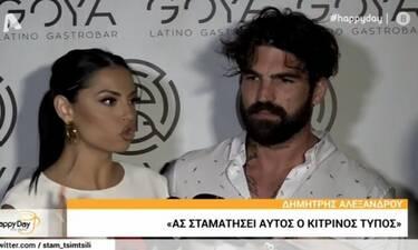 Έξαλλη η Αλεξανδράκη όταν ρώτησαν τον Αλεξάνδρου για την Καλάβρια! (Video)
