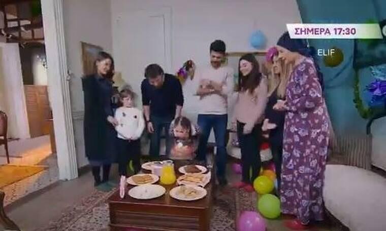 Elif: Δε φαντάζεστε ποιος χαλάει το πάρτι έκπληξη για τα γενέθλιά της!