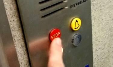 Ξέρεις για ποιο λόγο υπάρχει «STOP» στα ασανσέρ; Θα σοκαριστείς