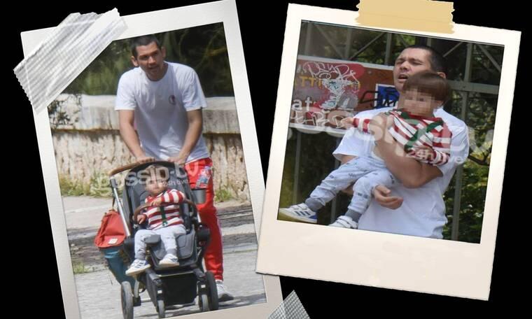 Γιορτή του πατέρα: Ο πιο τρυφερός μπαμπάς είναι ο Σωτήρης Κοντιζάς! (pics)