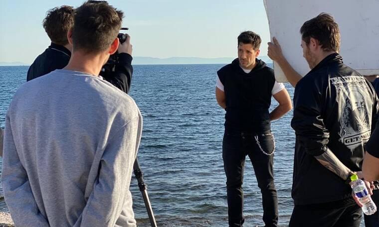 Θ. Φέρρης: Backstage από το νέο του video clip λίγο πριν την πρεμιέρα του!