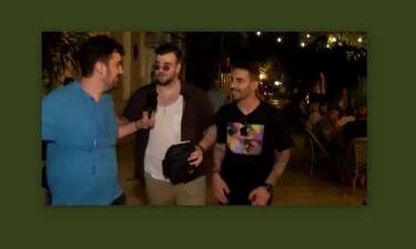 MasterChef: Σταύρος-Σταυρής: Η πρώτη κοινή έξοδος μετά τον τελικό (Video)