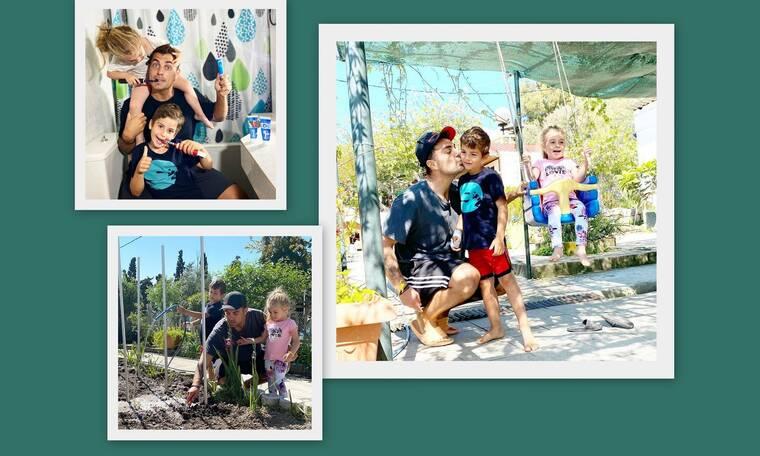 Γιορτή του πατέρα: Χανταμπάκης: Ένας οικογενειάρχης με τα όλα του! (Photos)