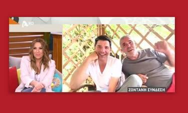 Ρουβάς: Η έκπληξη στην Γερμανού και το παράπονό του on air