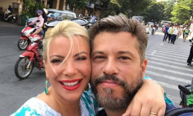 Aντελίνα Βαρθακούρη: «Θέλω να συνεργαστώ με τον άντρα μου στην τηλεόραση»