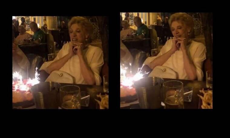 Η έκπληξη για τα γενέθλια της Μάρως Κοντού - Πόσο χρονών έγινε; (Pics-Vid)