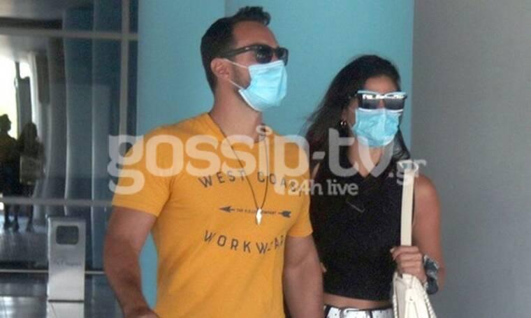 Σάκης Τανιμανίδης - Χριστίνα Μπόμπα: Δεν έβγαλαν λεπτό τις μάσκες προστασίας