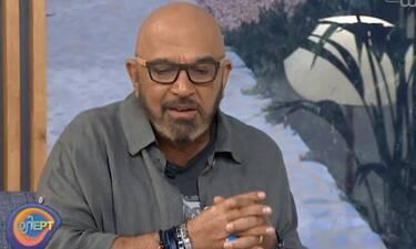 Γιάννης Ζουγανέλης: Μιλά για τον Σάκη Μπουλά και συγκινείται!