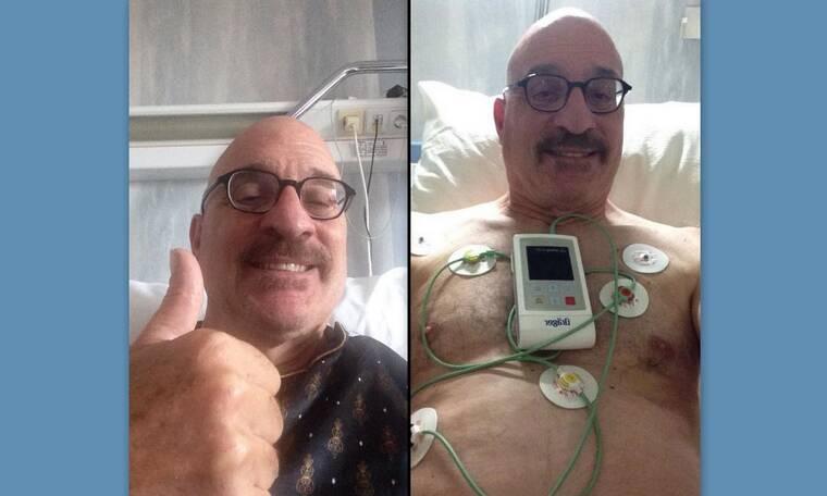 Ο Τζώνυ Βαβούρας εσπευσμένα στο νοσοκομείο (Photos)