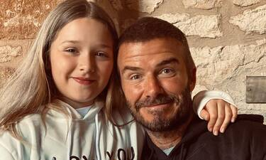 Η κόρη του David Beckham παίζει ποδόσφαιρό και τρελαίνει τον μπαμπά της