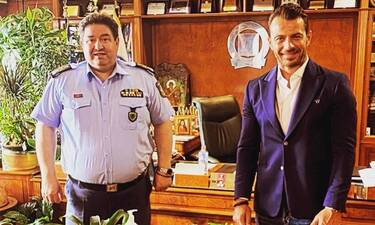 Ο Ντάνος συναντήθηκε με τον αρχηγό της Αστυνομίας και αυτός είναι ο λόγος!