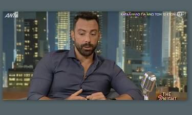 Σάκης Τανιμανίδης: Απαντά πρώτη φορά στα αρνητικά σχόλια που τον ενόχλησαν!