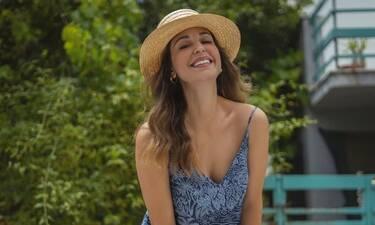 Παπουτσάκη: Η βεράντα της είναι… παράδεισος! Δες πώς την έχει διακοσμήσει