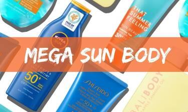 Mega Guide: 30 αντηλιακά σώματος με SPF 30, 50 ή και καθόλου...