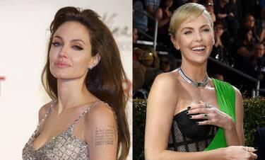 Τα μυστικά τους στο φως βγάζουν Charlize Theron και Angelina Jolie (photos)