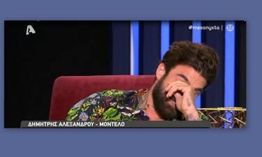Δημήτρης Αλεξάνδρου: Δεν άντεξε και δάκρυσε στην εκπομπή της Μελέτη