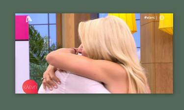 Ελένη Μενεγάκη: Τα δάκρυα του Γρηγόρη Γκουντάρα on air!