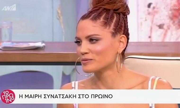 Μαίρη Συνατσάκη: Η επιστροφή της στην τηλεόραση και οι όροι! (Video)