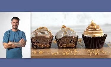 Ο Πετρετζίκης προτείνει Cupcakes παγωτό για μικρούς και μεγάλους!