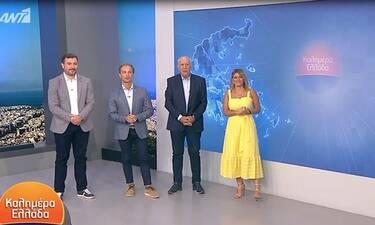 Καλημέρα Ελλάδα: Έτσι μας αποχαιρέτησε ο Παπαδάκης-H αποχώρηση και τα δάκρυα