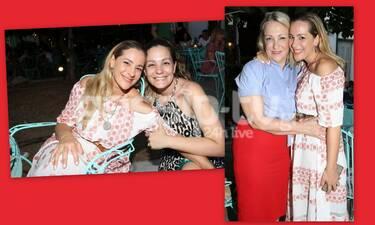 Νατάσα Μποφίλιου: Η έξοδος με τη μαμά και την αδερφή της-Απίστευτη ομοιότητα