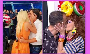 Καλό Μεσημέρι:Το επικό τρολάρισμα στο «καυτό» φιλί της Ελένης στον Παντζόπουλο