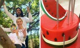 Ζέτα Δούκα: Το πάρτυ της μικρής Θάλειας είχε θέμα το καρπούζι