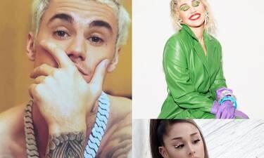 Miley Cyrus- Ariana Grande: Τα «πρόσωπα κλειδιά» στα μπλεξίματα του Bieber