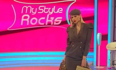 My Style Rocks:Η Ευρυδίκη έριξε το instagram με τις topless φώτο στην παραλία