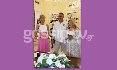 Σάσα Σταμάτη: Καρέ καρέ ο γάμος του αδελφού της Παναγιώτη