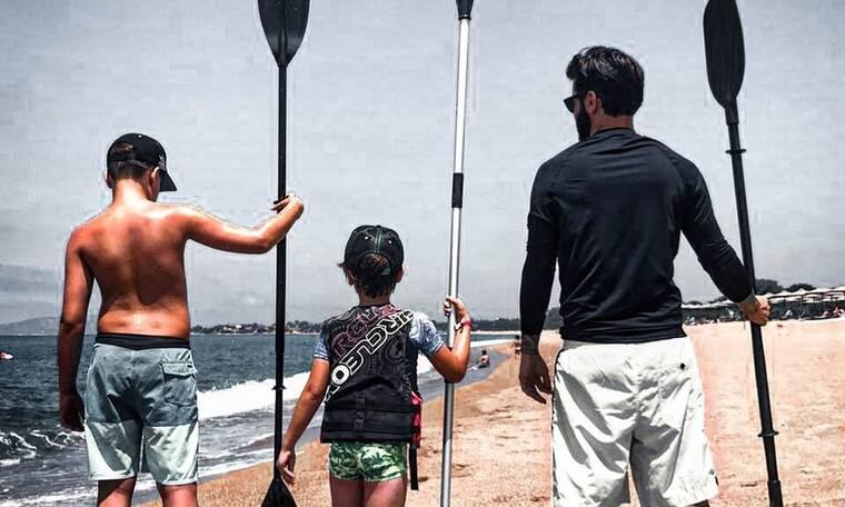 Θοδωρής Μαραντίνης: Διακοπές με τους γιους του σε πολυτελές ξενοδοχείο!