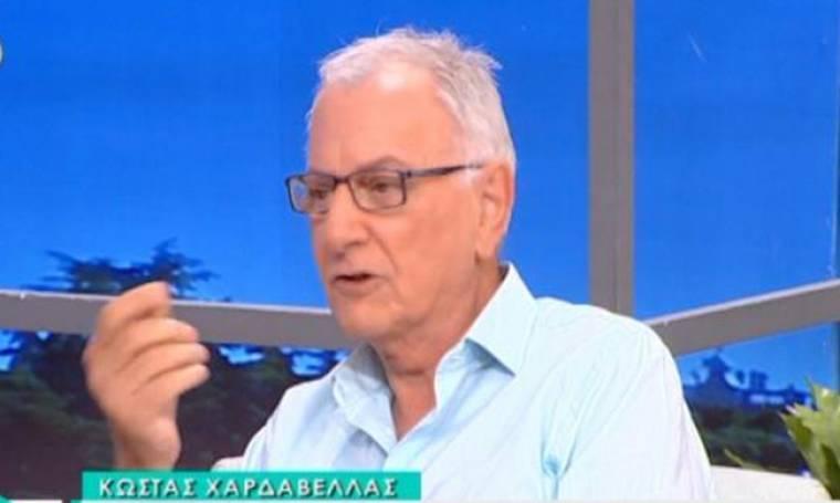 Κώστας Χαρδαβέλλας: «Έκανα λάθη στην τηλεόραση που τα έχω μετανιώσει»