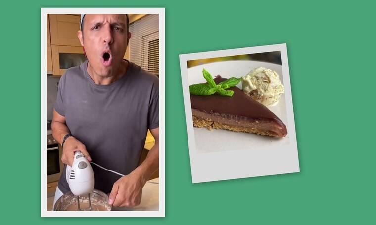 Σάββας Πούμπουρας: Μας έδωσε συνταγή για cheesecake και ξετρελαθήκαμε!