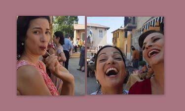 Άγριες Μέλισσες: Το backstage video της Βιολέτας «πρόδωσε» μια επανασύνδεση