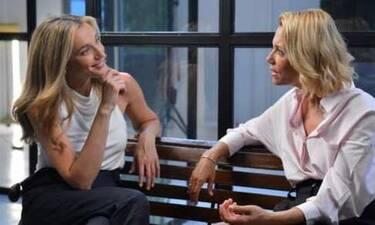 Βίκυ Καγιά - Κάτια Ζυγούλη: Τηλεοπτική συνάντηση - έκπληξη!