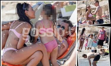 Happy Family: Ο Σρόιτερ και τα κορίτσια του για βουτιές στο Λαγονήσι! (pics)