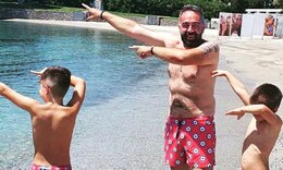Γρηγόρης Γκουντάρας: Οι τρυφερές ευχές για τα γενέθλια του γιου του! (Pics)