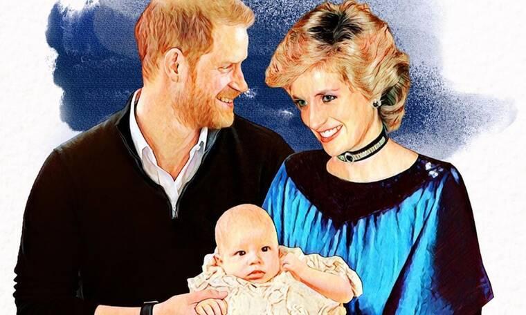 Πώς θα ήταν η πριγκίπισσα Diana με τους γιους της σήμερα; Το σκίτσο μιλάει