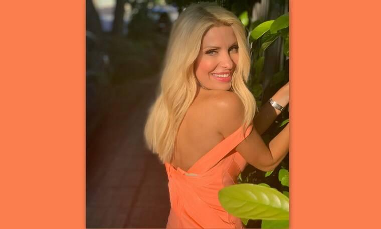 Μενεγάκη:Η νέα φώτο της από την Άνδρο είναι πιο εντυπωσιακή απ' ό,τι νομίζεις