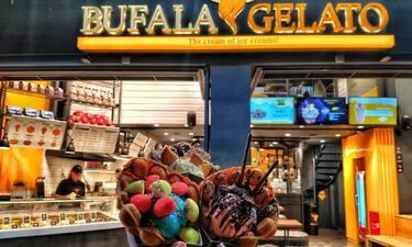 """Λαμπερά """"γενέθλια"""" με πολύ και καλό παγωτό στο Χαλάνδρι! (photos)"""